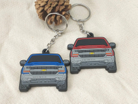 PVC Chevrolet Car Keychain
