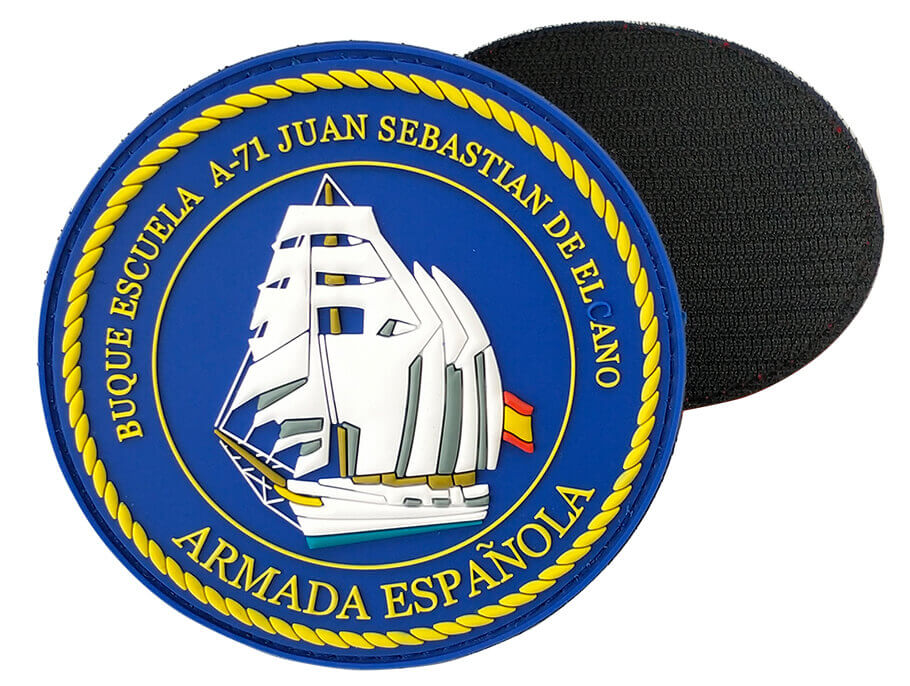 Custom Navy Military PVC Patches