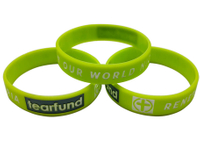 Glow in the dark Silicone Wristband