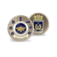 Air craft 3D Challenge Coin