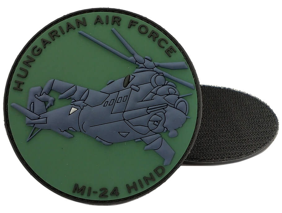 Custom 3D Craft PVC Military Patches