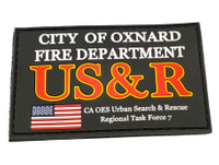US Fire Department Uniform Patch